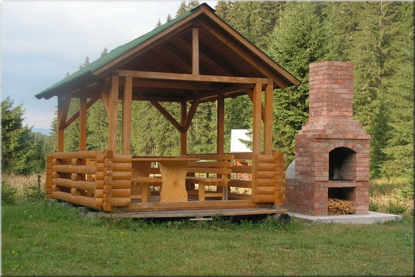 Garden shelters for relaxation
